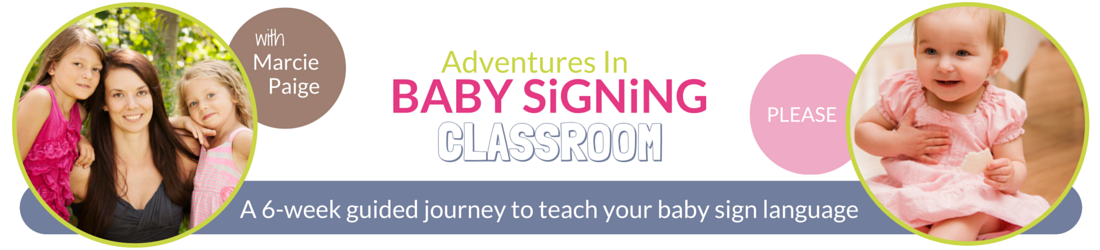 Learn baby sign language with Marcie Paige